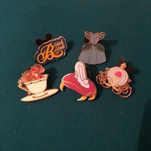 Disney Cinderella pin set
